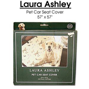 """LAURA ASHLEY Pet Car Seat Cover 57"""" x 57"""" One Size"""